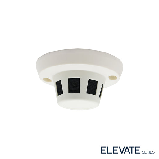 ELEV-P4SMOKE: 4 Megapixel IP Indoor Covert Smoke Detector Housing