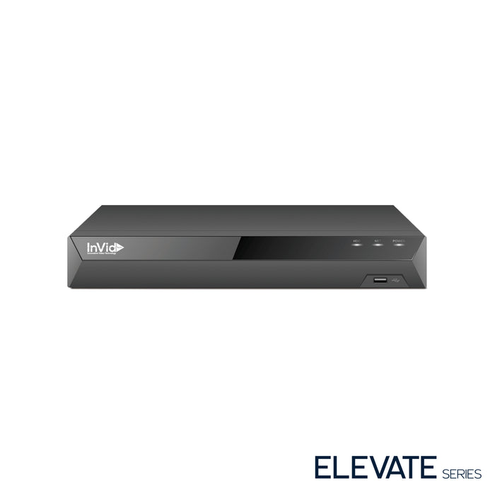 EN1A-4X4: 4 Channel NVR with 4 Plug & Play Ports