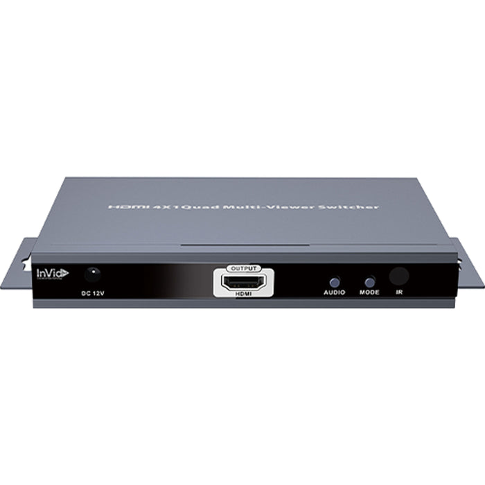 INVID-HDMI4X1: Quad Multi-viewer Switcher