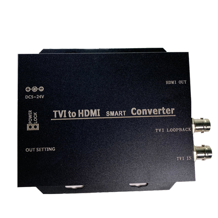 IUM-TVI8HDMI: HD 4K TO HDMI WITH EXTRA LOOP THRU TO TVI BNC