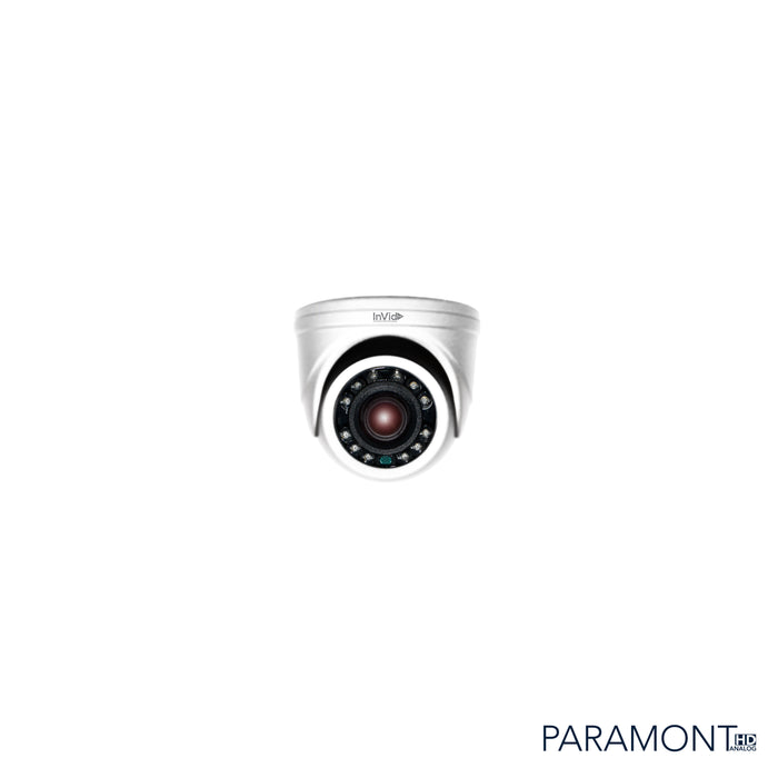 PAR-A2MINITI: 2 Megapixel Outdoor Mini Turret, Fixed Lens, 12VDC
