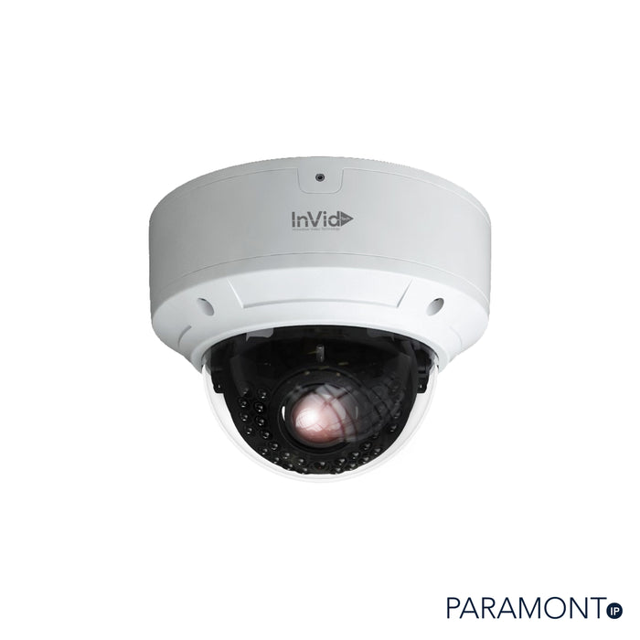 PAR-P5DRIRA3312: 5 Megapixel Dome, 3.3-12mm A/F Motorized