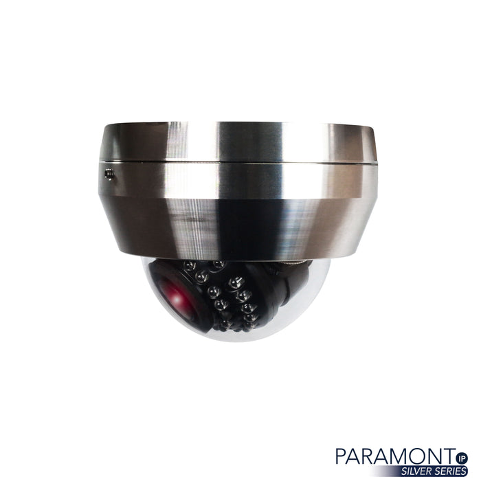 PAR-P2DRSSIRA2812: 2 Megapixel Stainless Steel Dome, 2.8-12mm A/F Motorized