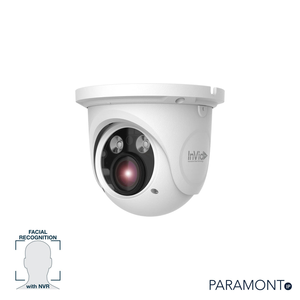 PAR-P5TXIRA3312F: 5 Megapixel Turret, 3.3-12mm A/F Motorized, Face Rec