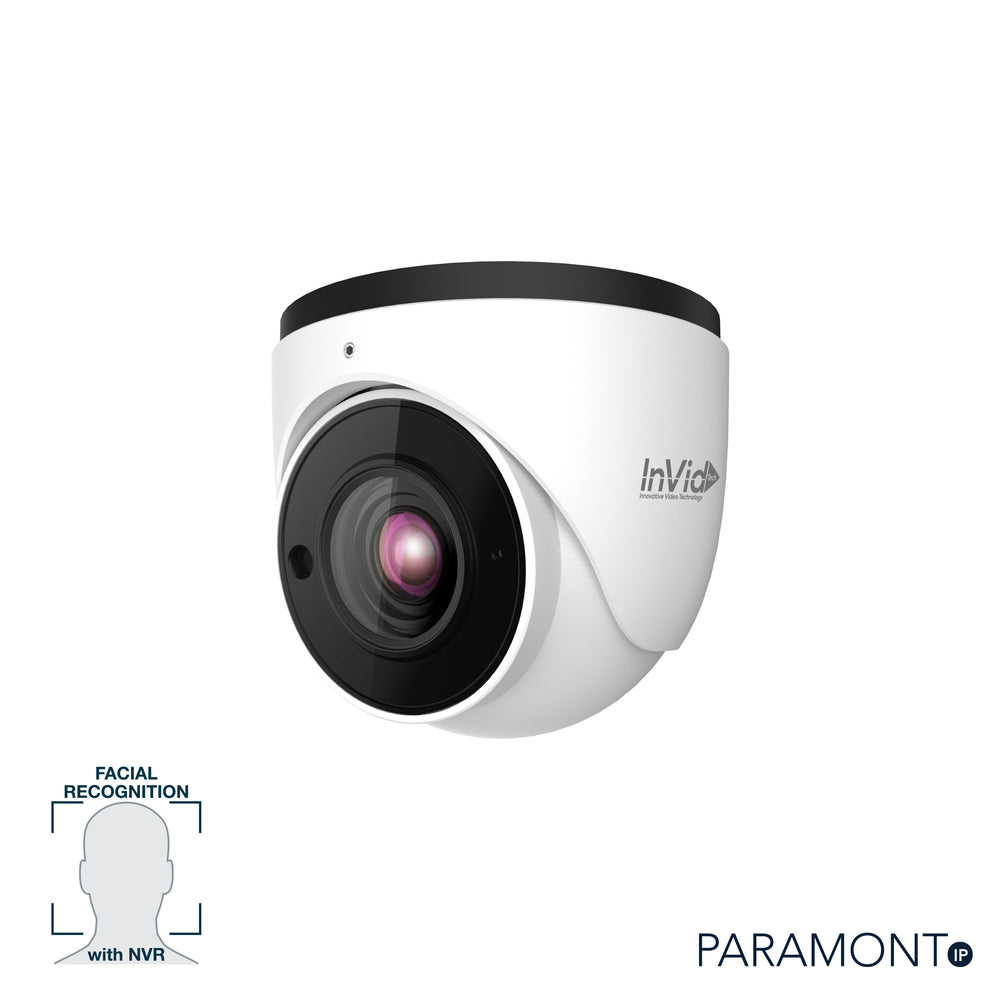 PAR-P5TXIRA3312N: 5 Megapixel Turret, 3.3-12mm A/F Motorized, Facial Red