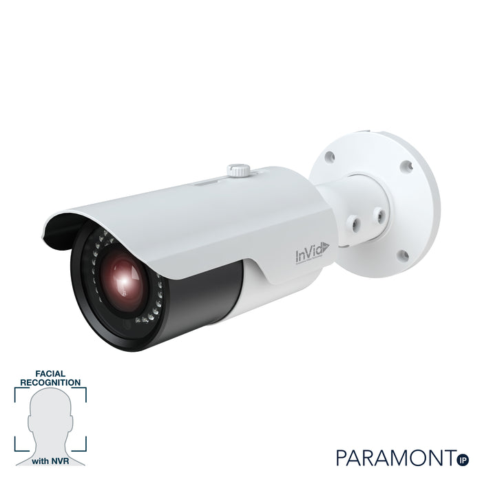 PAR-P8BIRA3312F: 8 Megapixel Outdoor Bullet, 3.3-12mm A/F Motorized