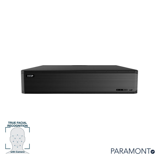 PN1A-16X16F: 16 Channel NVR with 16 Plug & Play Ports, Facial Recognition