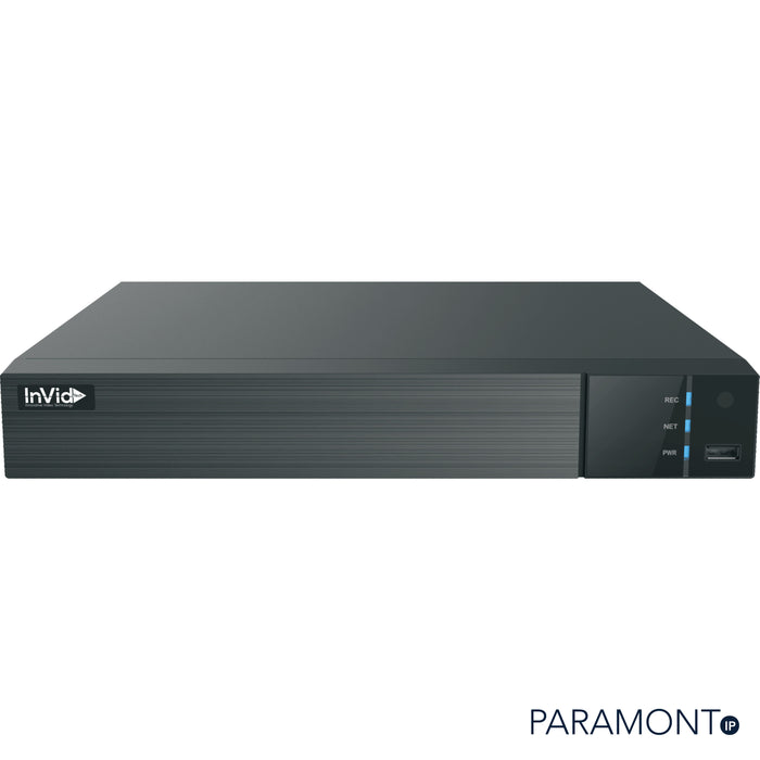 PN1B-8X8-AI: 8 Ch NVR with 8 Plug & Play Ports, 80 Mbps, 1 HD Bay, 4K