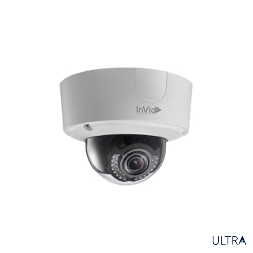 ULT-P12DRIRM2812: 12 Megapixel Outdoor Dome, Motorized Lens