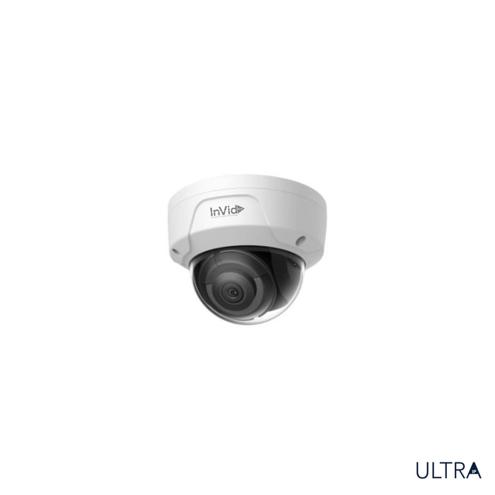 ULT-P4DRIRAN: 4 Megapixel, Plug & Play Outdoor Dome