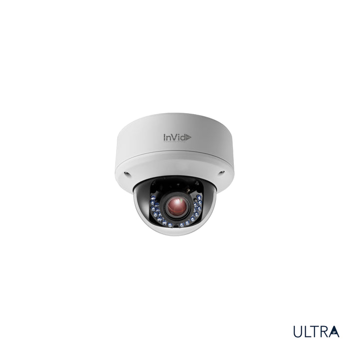 ULT-P4DRIRM2812: 4 Megapixel Motorized Dome, 2.8-12mm