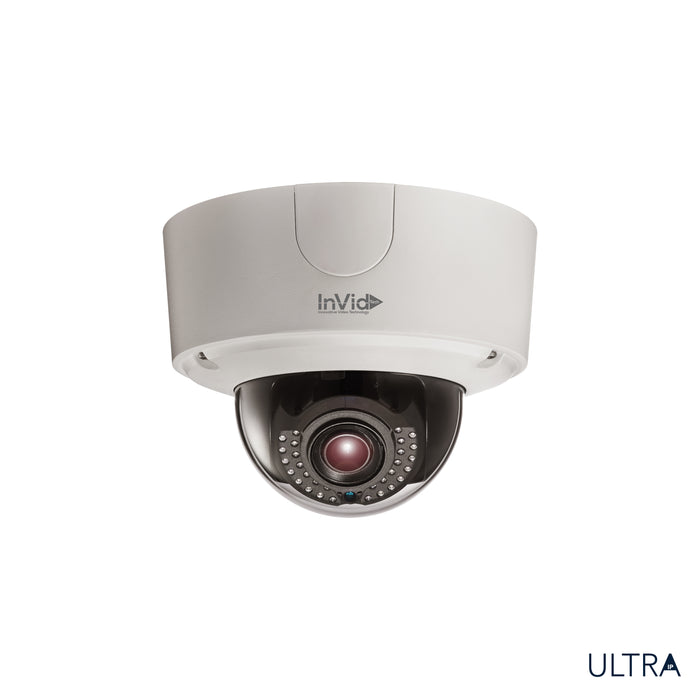 ULT-P6DRIRM2812: 6 Megapixel Outdoor Dome, Motorized Lens