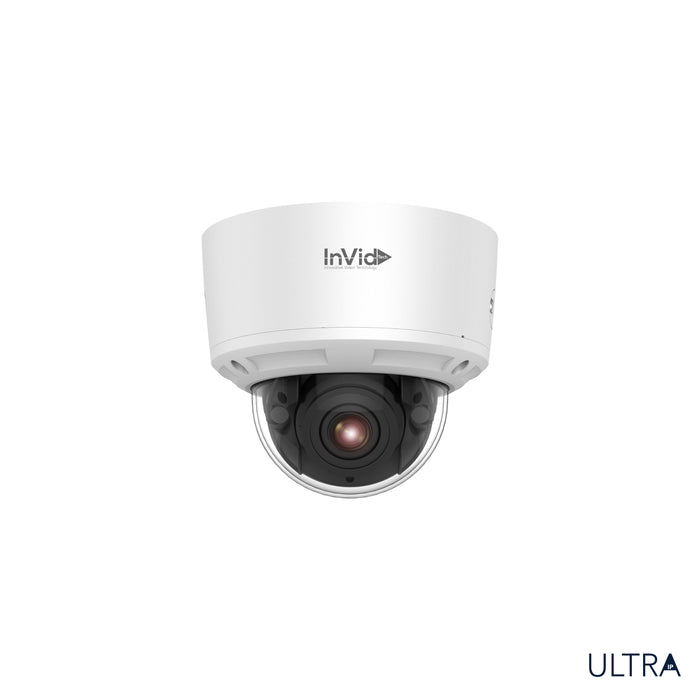 ULT-P8DIRM2812: 8 Megapixel Dome, 2.8-12mm Motorized Lens