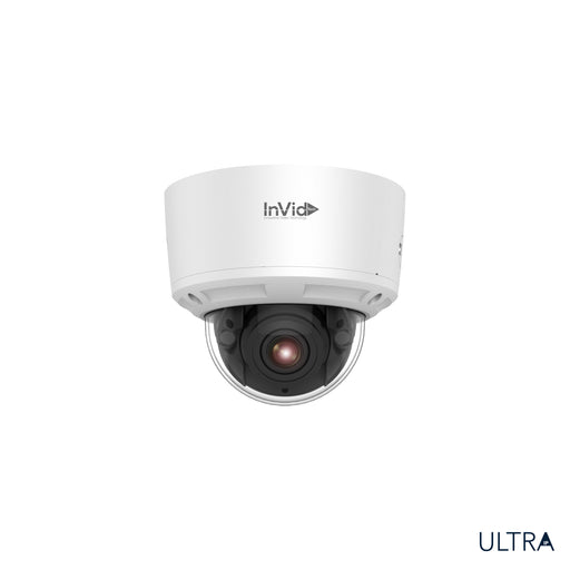 ULT-P8DRIRM2812: 8 Megapixel Dome, 2.8-12mm Motorized Lens