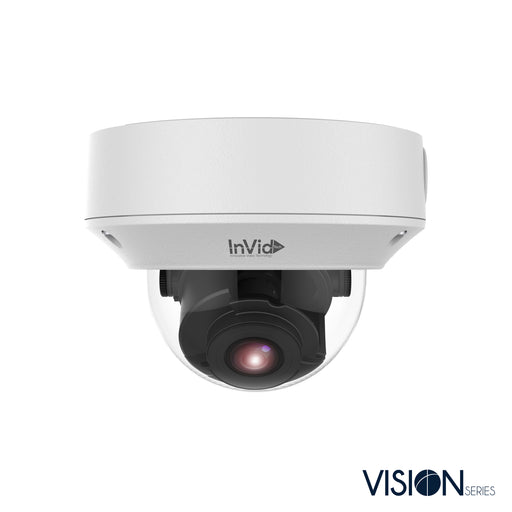 VIS-P4DRXIRA2812LC: 4 Megapixel Dome, 2.8-12mm A/F Motorized