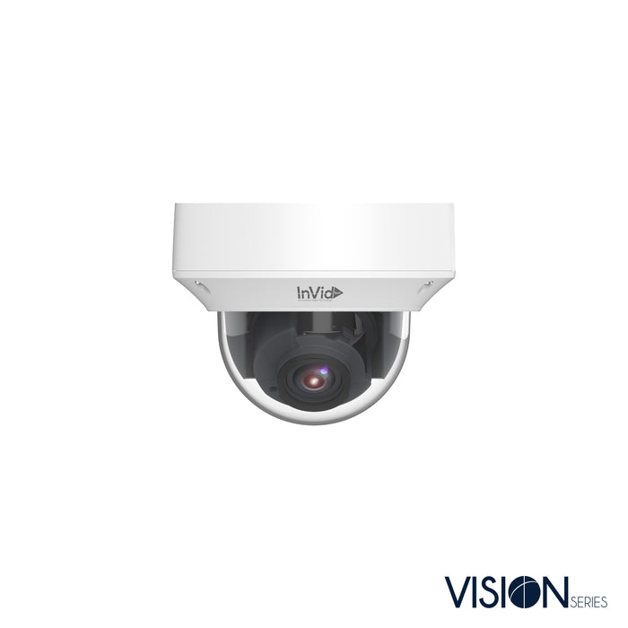VIS-P8DRXIRA2812: 8 Megapixel Dome, 2.8-12mm A/F Motorized