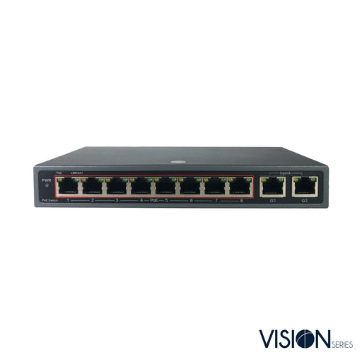 VIS-POE8-2: 8-Port Switch