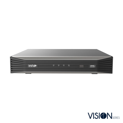 VN1A-4X4: 4 Channel NVR with 4 Plug & Play Ports