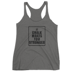 Women's Racerback Tank - Grey