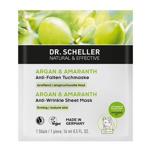 Argan & Amaranth Anti-Wrinkle Sheet Mask