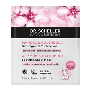 Dr. Scheller Almond & Calendula Soothing Sheet Mask