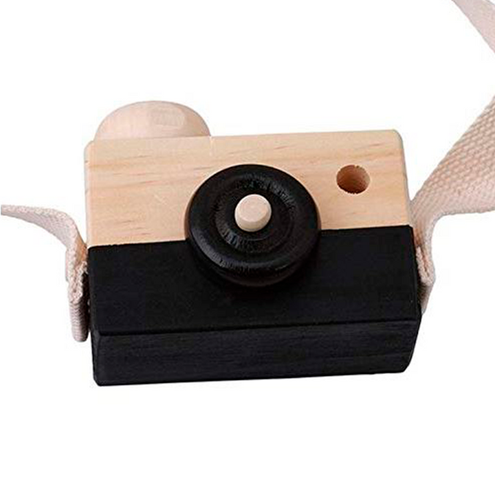 camara de madera de pino natural negra - made in joyland