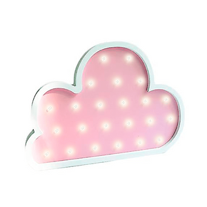 Decoración luminosa nube rosa - Made in Joyland