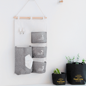 Organizador para pared gris - Made in Joyland