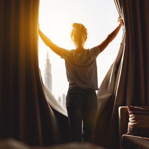Person - Sunshine and Serotonin: How Increased Daylight Hours Affect Our Health