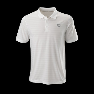Polo Wilson M STRIPE POLO Wh L