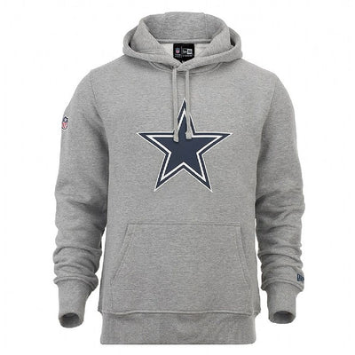 Sudadera línea Dallas Cowboys New Era NE92160FA14 TEAM LOGO PO HOOD DALCOW
