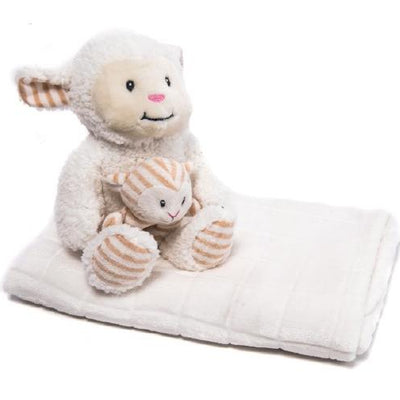 Mantas KIKKA BOO Set de regalo y juguete Sheep