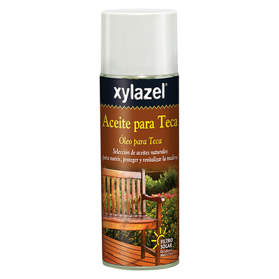 DIY XYLAZEL XYLAZEL ACEITE PARA TECA SPRAY COLOR TECA 0.400L