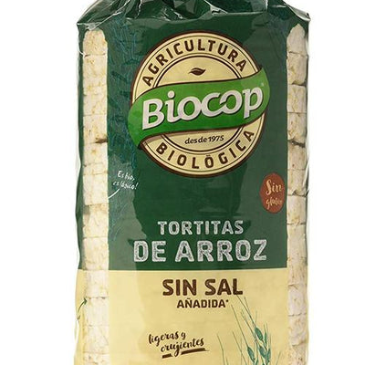 Beauty BIOCOP TORTITAS ARROZ S/SAL 200g