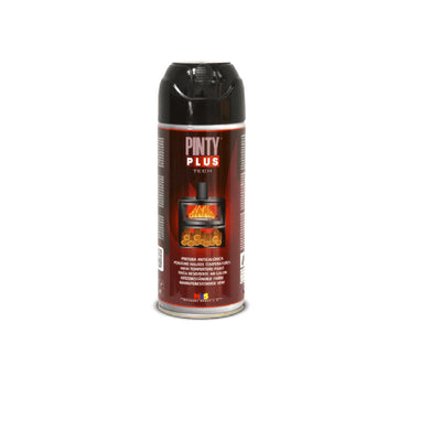 DIY PINTY PLUS SPRAY ALTA TEMPERATURA NEGRO 400ML