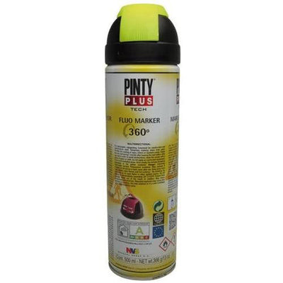 DIY PINTY PLUS TRAZADOR AMARILLO FLUORESCENTE 500ML