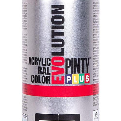 DIY PINTY PLUS SPRAY RAL 9005 NEGRO BRILLANTE 400ML