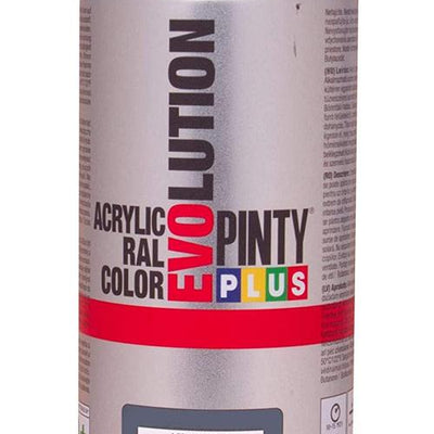 DIY PINTY PLUS SPRAY RAL 7011 GRIS HIERRO 400ML