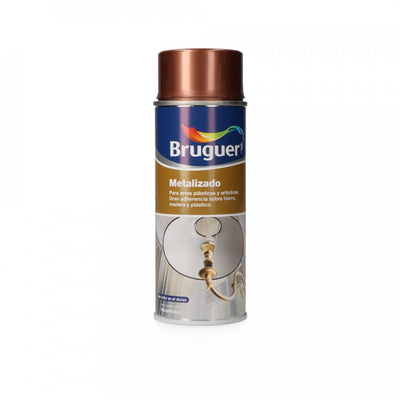 DIY BRUGUER HAMMERITE XYLADECOR METALIZADO SPRAY COBRE 0,4L BRUGUER