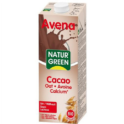 Beauty NATURGREEN NATURG. AVENA CHOCO 1l BIO ALMOND