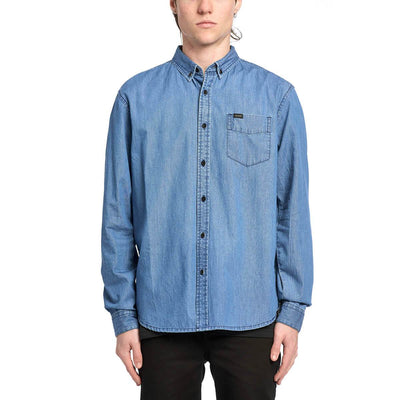 Camisa Globe Goodstock Oxford LS Shirt