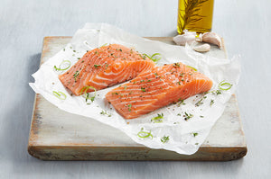 Skin On Salmon Fillets | Constitution Seafoods - Boston, MA