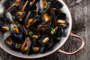 Live Wild Mussels