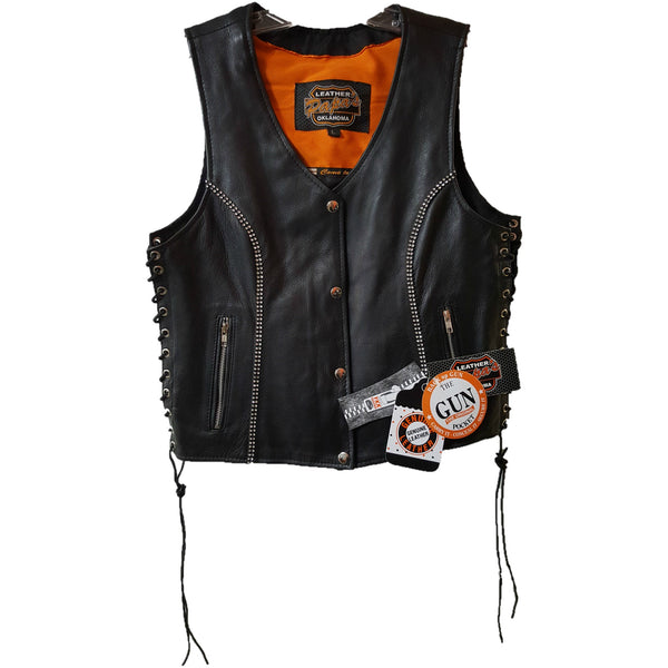 Womans Bling Vest