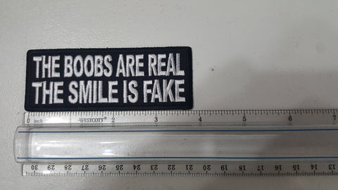 The Boobs are Real Patch