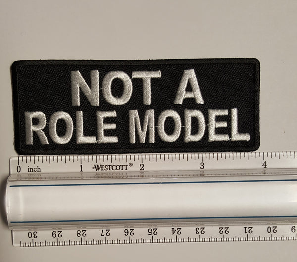Not A Role Model Patch