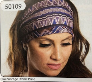 BLUE VINTAGE ROADIE HEADBAND
