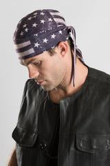 Vintage Flag Headwrap