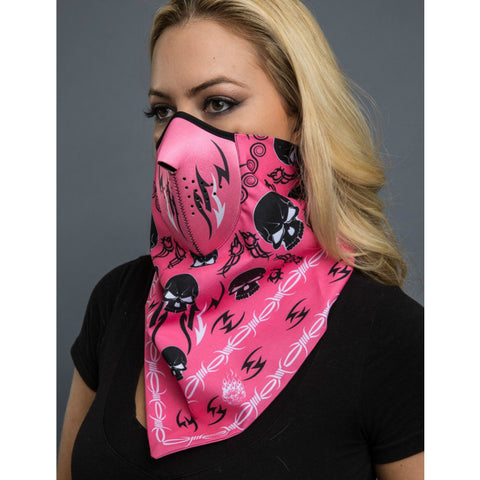 TRIBAL SKULL BANDANA MASK