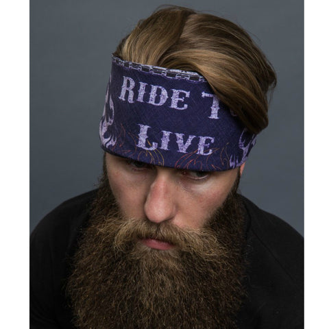 RIDE TO LIVE BANDANA